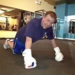 modified boxing pushups