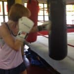 lisa boxing heavybag drills