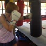 lisa boxing heavybag drills